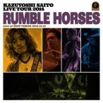"""斉藤和義/KAZUYOSHI SAITO LIVE TOUR 2014""""Rumble Horses""""Live at ZEPP TOKYO 2014.1"""