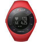 Polar 90061215(レッド) M200 M/L GPSランニングウォッチ 腕時計タイプ