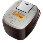 パナソニック SR-PA106-T(ブラウン) おどり炊き 可変圧力IHジャー炊飯器 5.5合