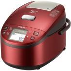 日立 RZ-YV180M-R(メタリックレッド) 圧力スチーム炊き ふっくら御膳 IH炊飯器 1升