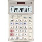 CASIO JS-20WK-GD(ゴールド) 実務電卓 12桁