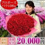 バラ花束108本 プロポーズ 選べるカラー 20,000円(税別)