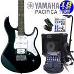 エレキギター初心者入門 YAMAHA ヤマハ PACIFICA パシフィカ 112V/BL 16点セット