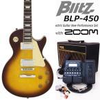 エレキギター初心者セット VOXアンプとG1XFour付 BLP-450/VS  Blitz エレキギター入門18点セット