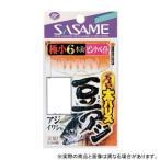 ささめ針 S-107 ちょい太豆アジ ピンクベイト 0.5 【仕掛け】