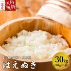 予約 新米 令和3年産 米 30kg 山形県産 はえぬき 送料無料 特A受賞米 玄米 白米 30kg×1袋 お米