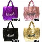 キットソン kitson LA Glitter Metallic グリッタートートバッグ パープル/ピンク/ゴールド/ブラック
