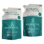 aminoRESQ アミノレスキュー モイスト シャンプー&トリートメント詰替セット(リニューアル品)
