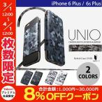 iPhone6 Plus iPhone6s Plus ケース Deff Hybrid Case UNIO for iPhone 6s Plus / 6 Plus PU Leather Camouflage ディーフ ネコポス不可
