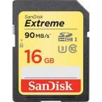 SDHCカード SanDisk サンディスク 16GB Extreme UHS-I U3 SDHC Memory Card Class 10 SDSDXNE-016G ネコポス可 SDカード メモリーカード