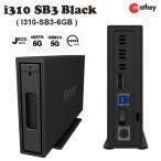 ハードディスク(HDD)ケース STARDOM スターダム iTANK i310 6G Black eSATA / USB 3.0 I310-SB3-6GB ネコポス不可