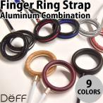 スマートフォン、携帯電話その他 Deff Finger Ring Strap Aluminum Combination ネコポス可