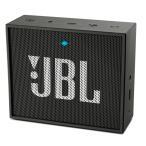 Bluetoothスピーカー JBL ジェービーエル GO ポータブル Bluetooth スピーカー ブラック JBLGOBLK ネコポス不可