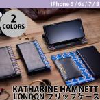 その他スマホケース、カバー Simplism KATHARINE HAMNETT LONDON フリップケース iPhone 7 / iPhone 6s / iPhone 6 ネコポス可