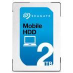 内蔵ハードディスク 2.5 Seagate シーゲート Mobile HDD 2TB 5400rpm 7mm ST2000LM007 ネコポス不可
