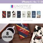 ショッピングミッキー その他スマホケース、カバー PGA iPhone 7 / 6s / 6用 フリップカバー UNISTYLE / ミッキーマウス ネコポス送料無料