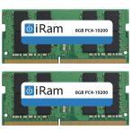 iMac用メモリ iRam アイラム PC4-19200 DDR4 2400MHz SO.DIMM 16GB 2x8GB IR8GSO2400D4W ネコポス不可