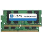 iRam PC4-19200 DDR4 2400MHz SO.DIMM 32GB 2x16GB   IR16GSO2400D4W アイラム
