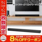 TV ホームシアター スピーカー SONY ソニー サウンドバー HT-S100F ホームシアターシステム ブラック HT-S100F ネコポス不可