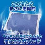 冷感 枕パッド ひんやり 接触冷感 さらっと 47x58cm 冷却パッド 枕カバー 涼感パッド Q-MAX0.5 夏 涼感 クール 洗える 寝具