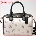 ショッピングコーチ ストラップ コーチ COACH バッグ フラワープリントミニベネットサッチェル2WAYハンドバッグ 37491