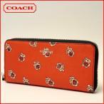 ショッピングコーチ コーチCOACH 財布 スリム アコーディオン  ラウンドファスナー長財布F56717