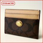 ショッピングコーチ コーチ カードケース  COACH ペイトン シグネチャー パスケース 62861