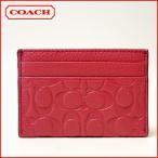 ショッピングコーチ コーチ 名刺入れ アウトレット COACH シグネチャー  カードケース 63357