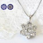 ダイヤモンド ネックレス プラチナ H&C ハート 0.5カラット