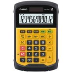 CASIO WM-320MT(イエロー) 卓上電卓 12桁 防水・防塵タイプ