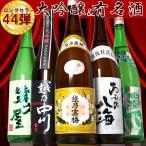 越乃寒梅&大吟醸入り日本酒飲み比べセット 第44弾 1800ml×5本