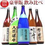 日本酒 飲み比べセット 越乃寒梅 灑入り 純米酒 純米