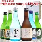 日本酒 飲み比べセット300ml×6本 6つ星 送料無料