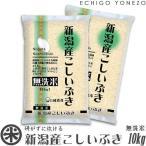 新米 28  無洗米 新潟産こしいぶき 最新加工NTWP製法 10kg 5kg×2袋 お米 新潟米 こしいぶき 送料無料