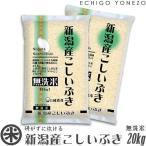 新潟 米  無洗米 新潟産こしいぶき 最新加工NTWP製法 20kg 5kg×4袋 お米 新潟米 こしいぶき 送料無料
