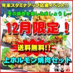 【送料無料】12月限定!秘伝の味!上ホルモン焼肉セット