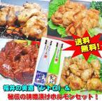 【送料無料】越前福井の地酒(レトロ)&秘伝の味噌漬けホルモンセット!