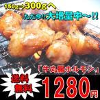 【送料無料】☆大増量セール品!牛丸腸ホルモン300g 焼肉 バーベキュー B級グルメ