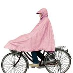 マルト(MARUTO) 自転車屋さんのポンチョ  水玉ピンク フリーサイズ(150〜175cm) S-744【沖縄・離島への配送不可】