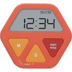 タニタ ガラスに付くタイマーTD-412OR●カラー:オレンジ