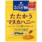 カンロ 健康のど飴たたかうマヌカハニ 80g【入数:6】