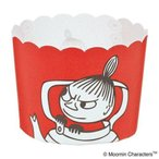MOOMIN(ムーミン) マフィンカップ リトルミイ(RE) MM532 6枚×10セット (1383607)