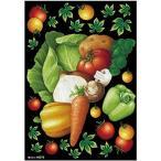 のぼり屋工房 デコシールA4サイズ 野菜集合 チョーク 40272 (1389781)