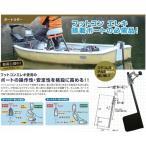 BMO ボートラダー Boat Rudder フットコン エレキ 搭載ボートの必需品!
