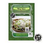 種 有機種子 マングビーン 緑豆 スプラウト