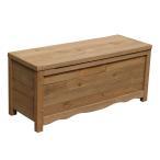 住まいスタイル 物置 ベランダ 屋外収納 スチール 天然木 ボックスベンチ ブラウン BB-W90BR ※お客様組立品 送料無料