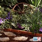 【埋め込むだけで簡単に花壇が作れる!】サンキャスト ボーダーエッジング(レンガ) BBE10TC