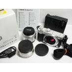 超美品 Nikon 1 J5 ダブルレンズキット シルバー 中古本体 安心保証 即日発送 ミラーレス一眼 Nikon 本体