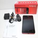 超美品 ZenFone5 16GB A500KL レッド 中古本体 安心保証 即日発送 SIMフリースマホ ASUS Android 本体 白ロム