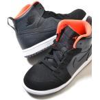 ショッピングAIR NIKE AIR JORDAN 1 RETRO HIGH BT ナイキ エアジョーダン レトロ ブラック キッズ 子供靴 スニーカー